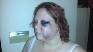 megan-graham beaten by cops